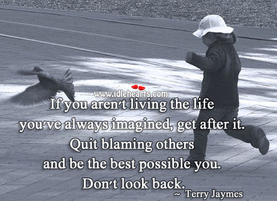 Image, Live the life you've always imagined.
