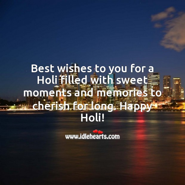 Image, Best wishes to you. Happy holi.