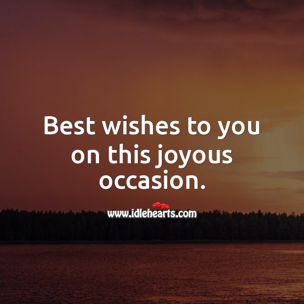 Best wishes to you on this joyous occasion. Bar Mitzvah Messages Image