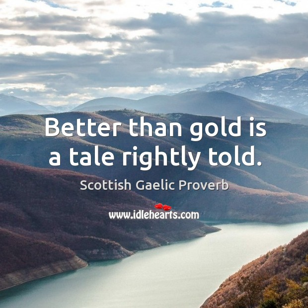 Scottish Gaelic Proverbs