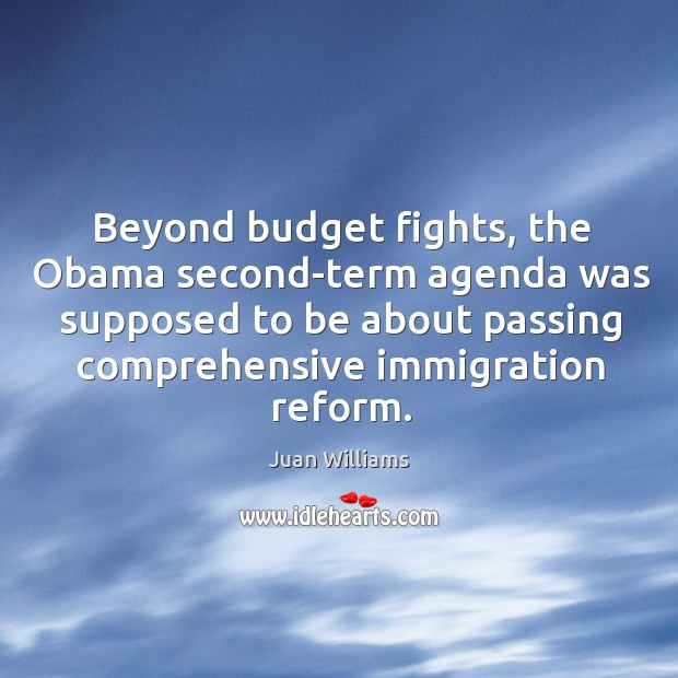 Beyond budget fights, the Obama second-term agenda was supposed to be about Image