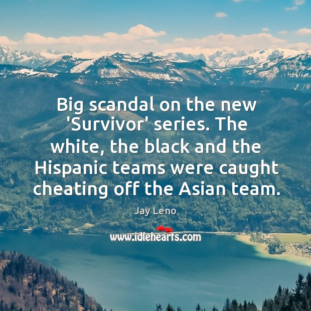 Image about Big scandal on the new 'Survivor' series. The white, the black and