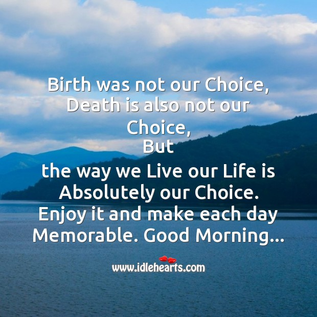 Birth was not our choice Image