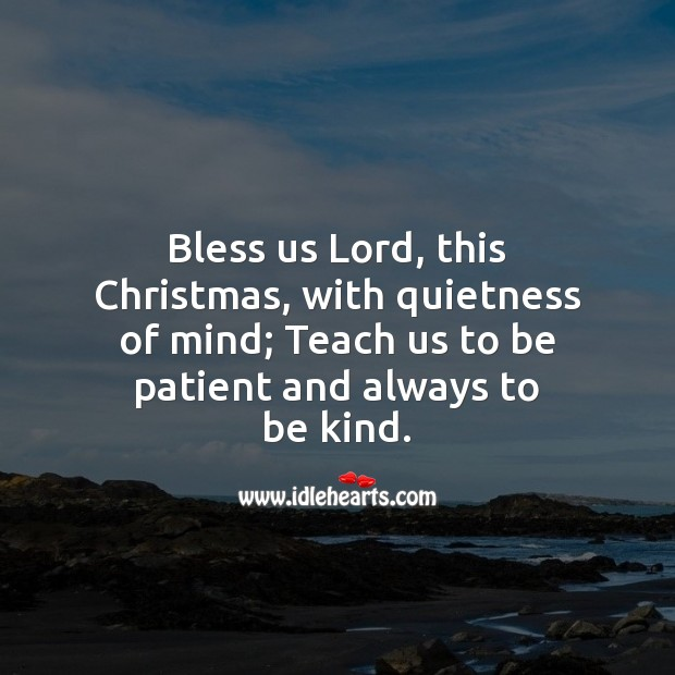 Bless us lord, this christmas Christmas Messages Image