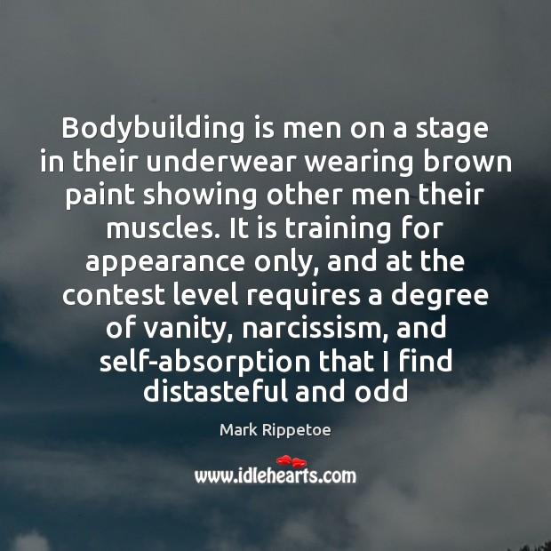 Image, Bodybuilding is men on a stage in their underwear wearing brown paint