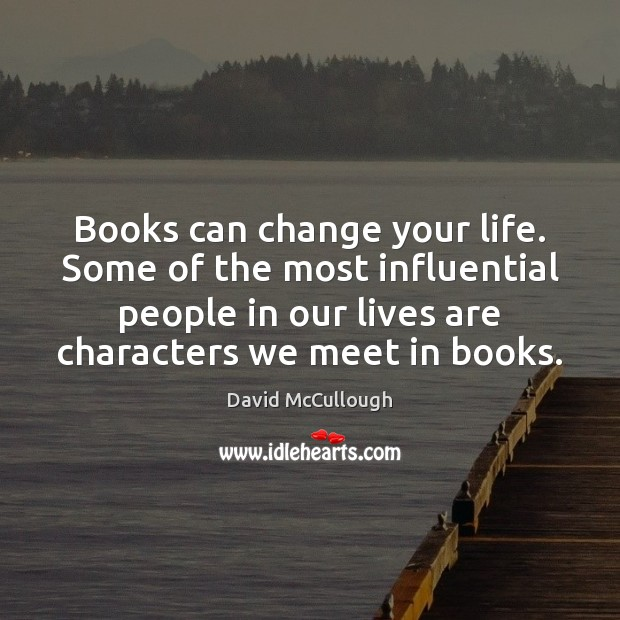 Image, Books can change your life. Some of the most influential people in
