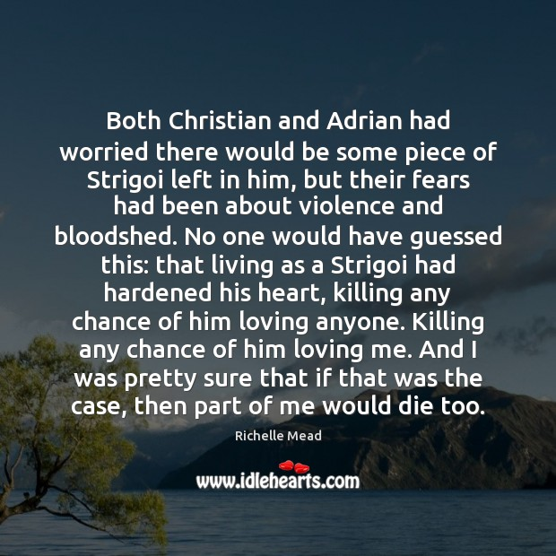 Both Christian and Adrian had worried there would be some piece of Image