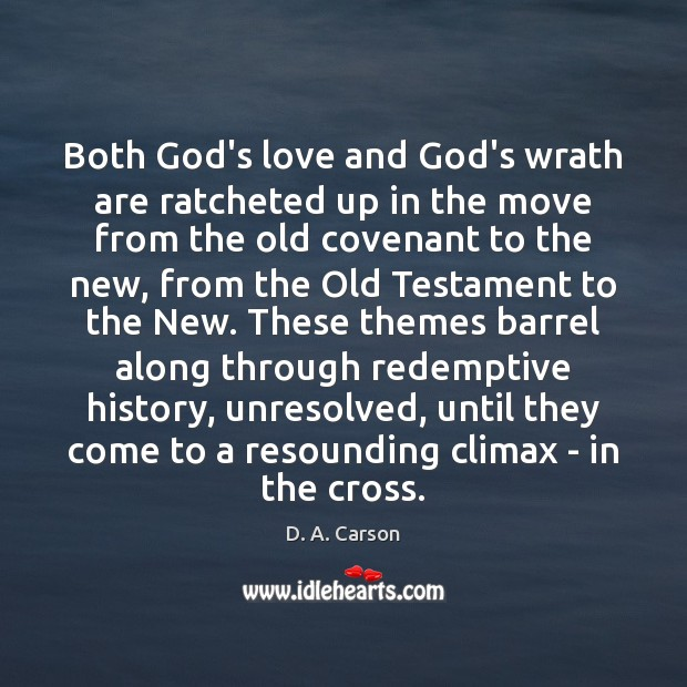 Both God's love and God's wrath are ratcheted up in the move Image