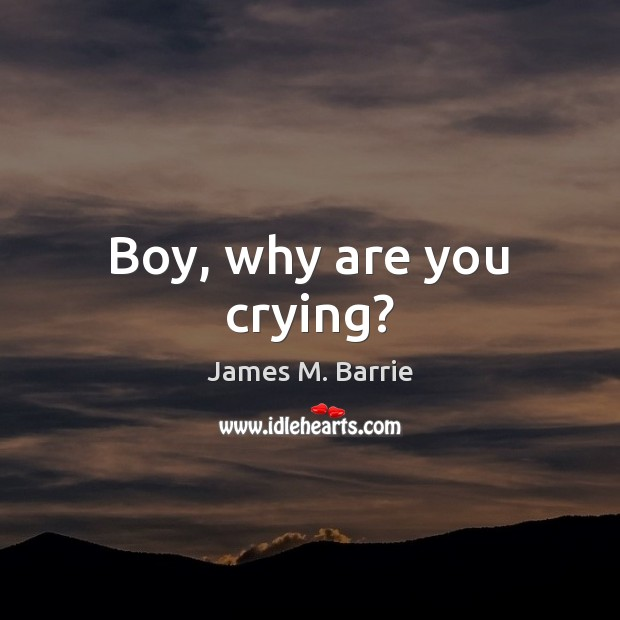Image, Boy, why are you crying?