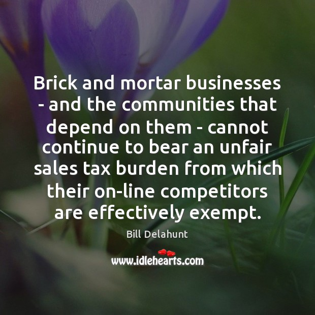 Image, Brick and mortar businesses – and the communities that depend on them