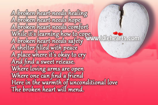Quotes For Helping Friends With Broken Hearts: Best broken heart ...