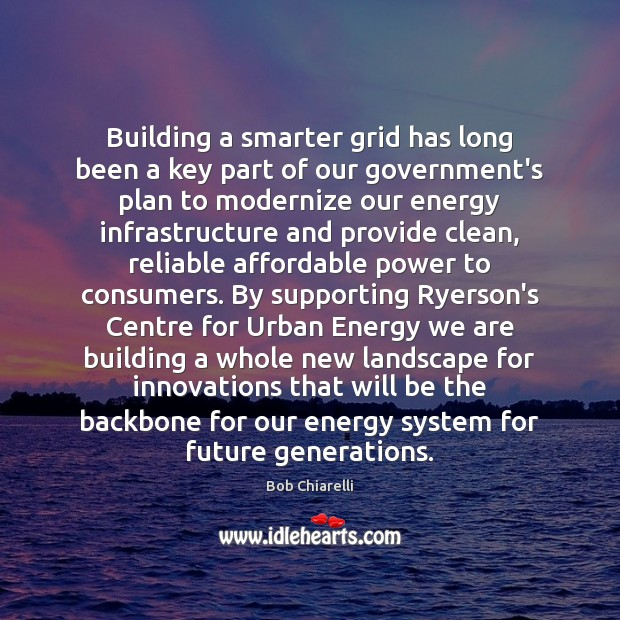 Image, Building a smarter grid has long been a key part of our