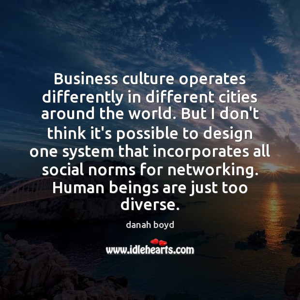 Business culture operates differently in different cities around the world. But I Image