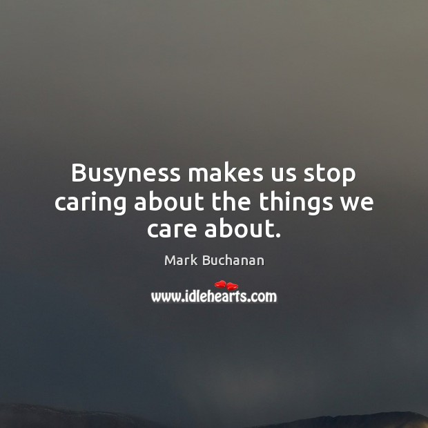 Picture Quote by Mark Buchanan