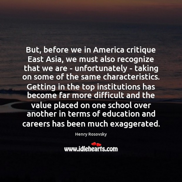 Image, But, before we in America critique East Asia, we must also recognize