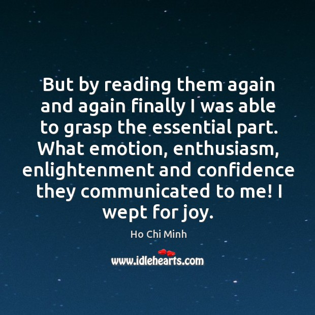 Picture Quote by Ho Chi Minh