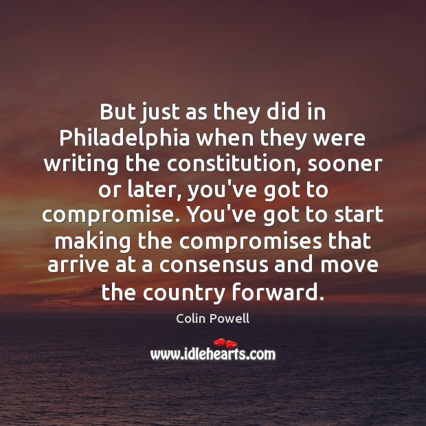 But just as they did in Philadelphia when they were writing the Image