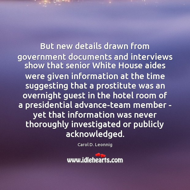Image, But new details drawn from government documents and interviews show that senior