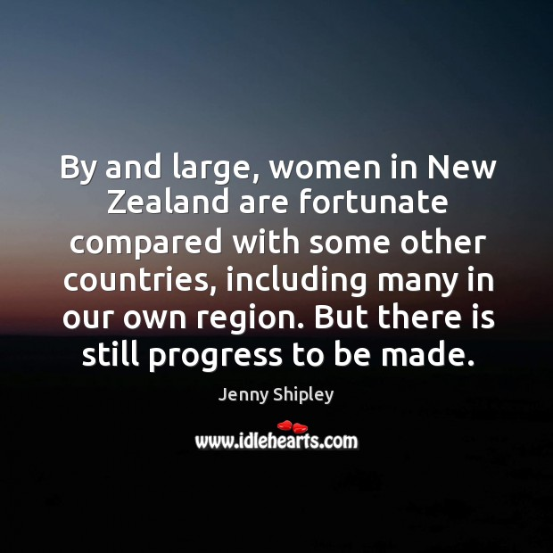 But there is still progress to be made. Image