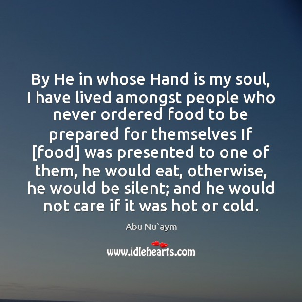 Image, By He in whose Hand is my soul, I have lived amongst