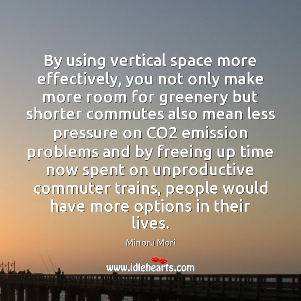 By using vertical space more effectively, you not only make more room Image