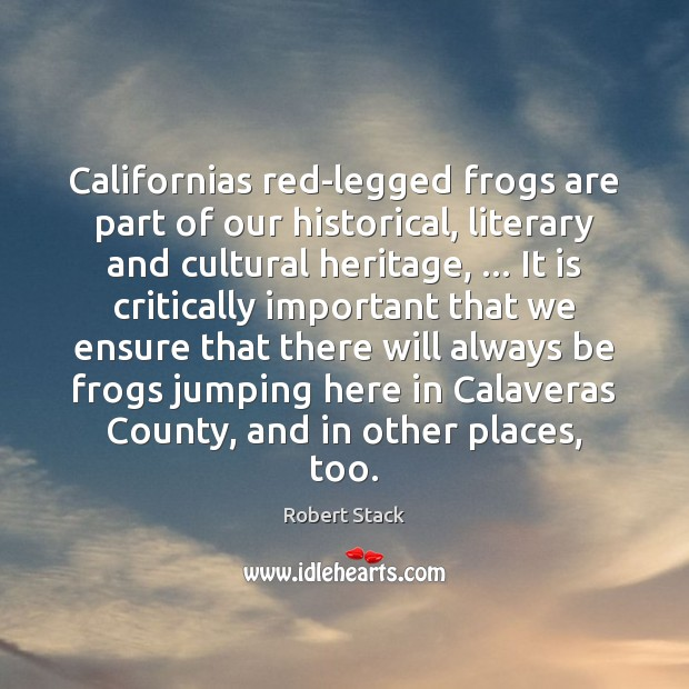 Image, Californias red-legged frogs are part of our historical, literary and cultural heritage, …