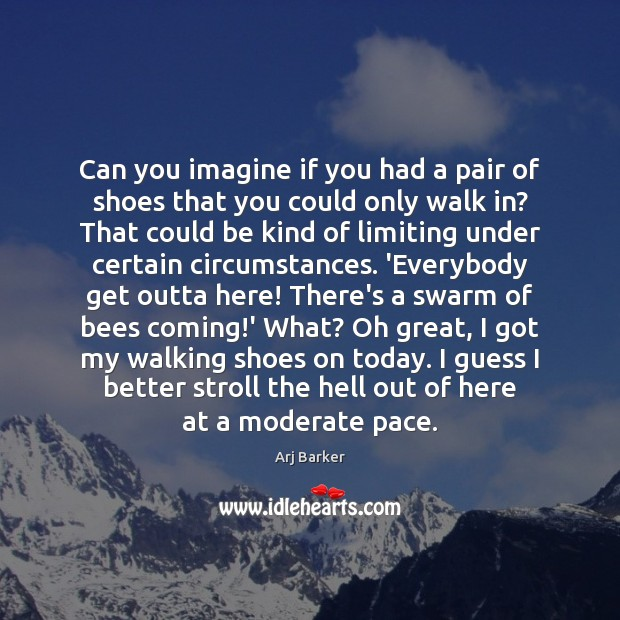 Can you imagine if you had a pair of shoes that you Image