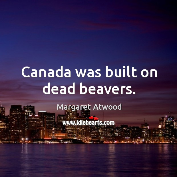 margaret atwood points out flaws in stereotypical images of canada