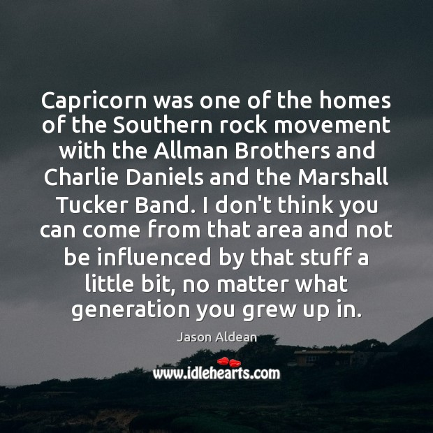 Capricorn was one of the homes of the Southern rock movement with Image