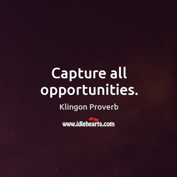 Image, Capture all opportunities.
