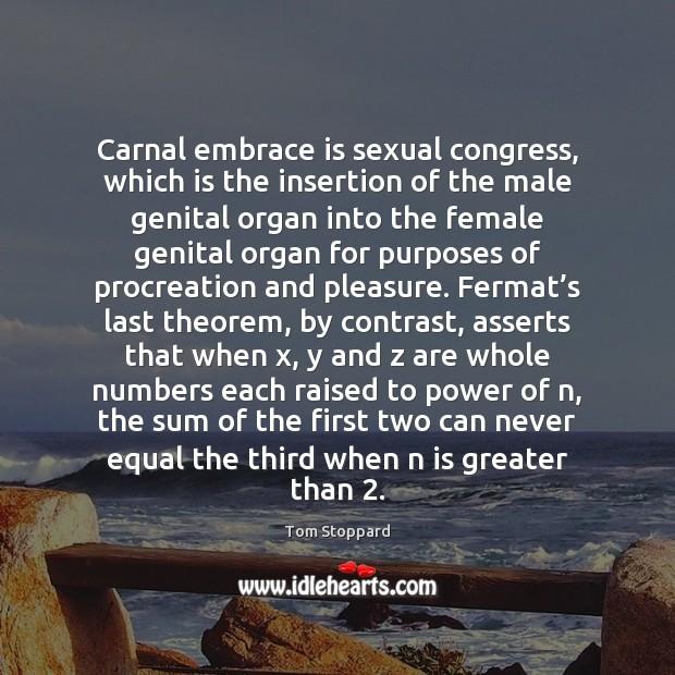 carnal embrace