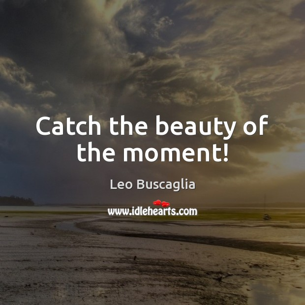 Image, Catch the beauty of the moment!
