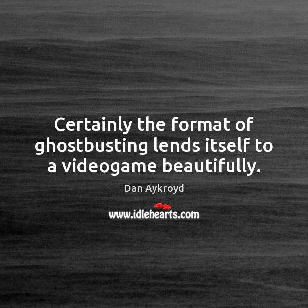 Certainly the format of ghostbusting lends itself to a videogame beautifully. Image