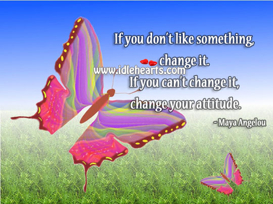 Image, Change your attitude