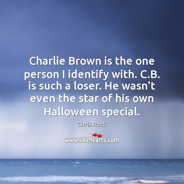Charlie Brown is the one person I identify with. C.B. is Halloween Quotes Image
