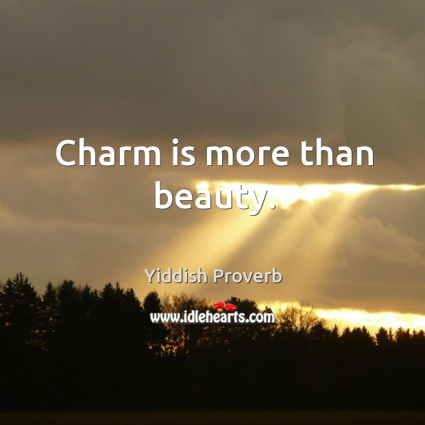 Image, Charm is more than beauty.