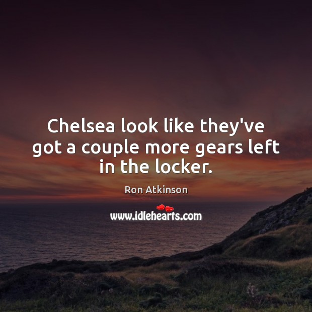 Chelsea look like they've got a couple more gears left in the locker. Image