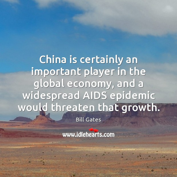 Image, China is certainly an important player in the global economy, and a