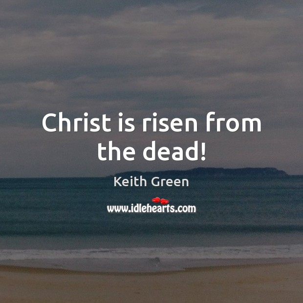 Image, Christ is risen from the dead!