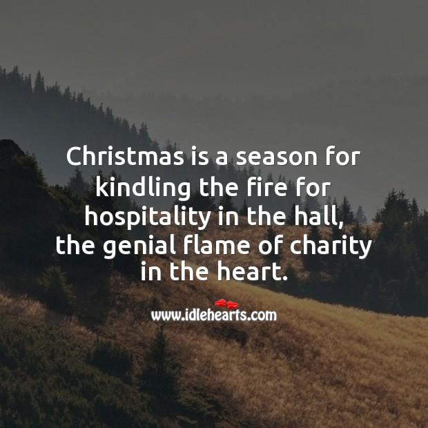 Image, Christmas is a season