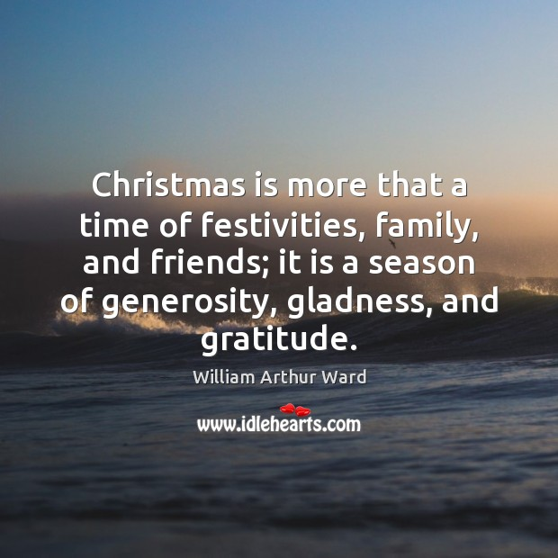 Image, Christmas is more that a time of festivities, family, and friends; it