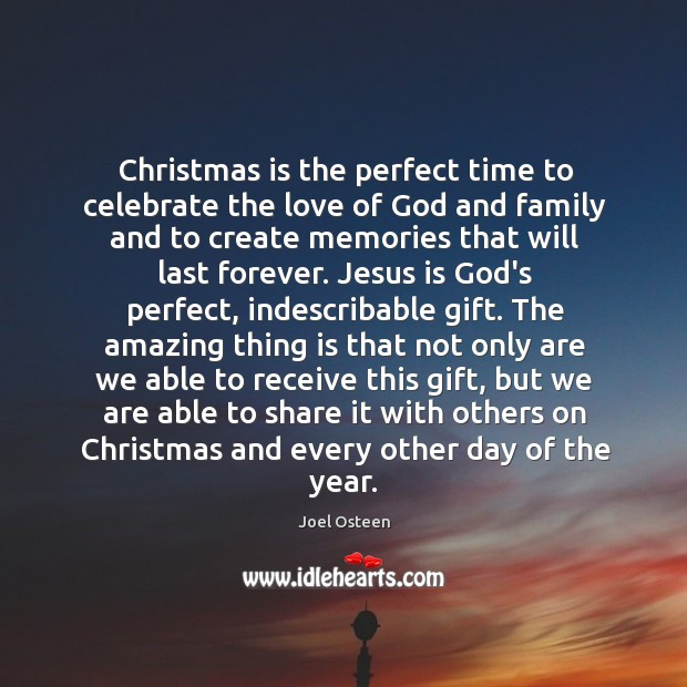 Image, Christmas is the perfect time to celebrate the love of God and