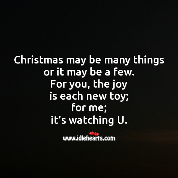 Christmas may be many things Christmas Messages Image