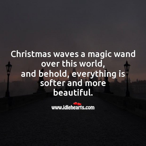 Image, Christmas waves a magic