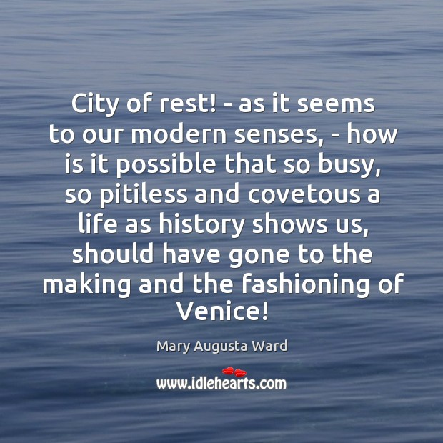 City of rest! – as it seems to our modern senses, – Image