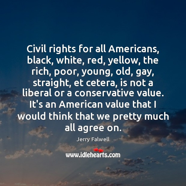 Image, Civil rights for all Americans, black, white, red, yellow, the rich, poor,