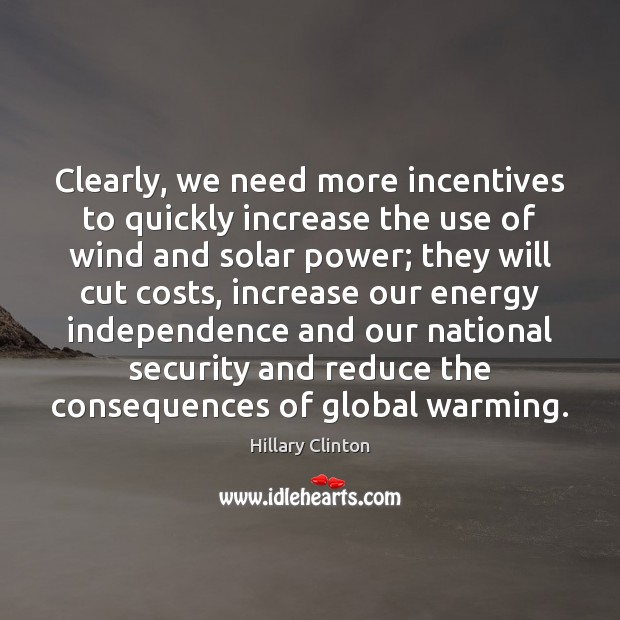 Image, Clearly, we need more incentives to quickly increase the use of wind