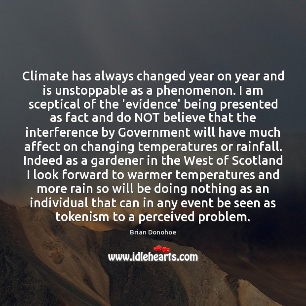 Image, Climate has always changed year on year and is unstoppable as a