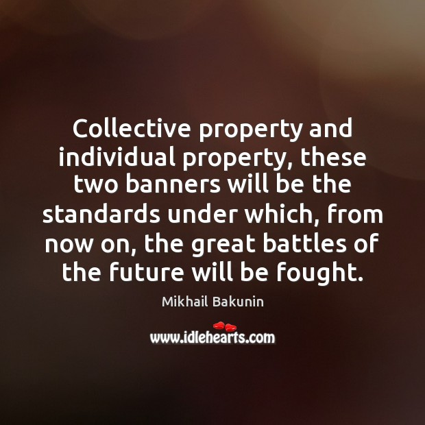 Collective property and individual property, these two banners will be the standards Image
