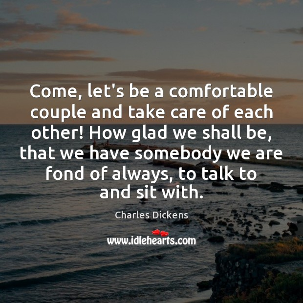Image, Come, let's be a comfortable couple and take care of each other!